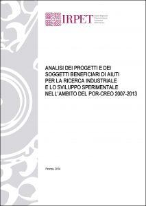 coverAnalisi-auti_ricerca_ind_Por-Creo-2007_2013