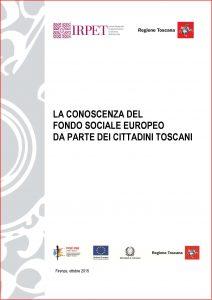 Pagine da Rapporto conoscenza FSE toscani 10.2015