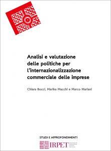 Analisi e valutazione delle politiche per l'internazionalizzazio