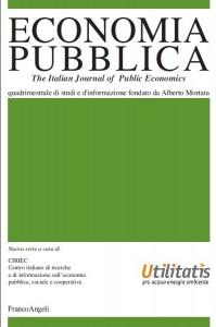 Rivista Econ Pubblica Franco Angeli