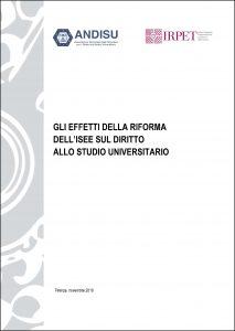 Cover Effetti riforma ISEE su DSU Finale-1