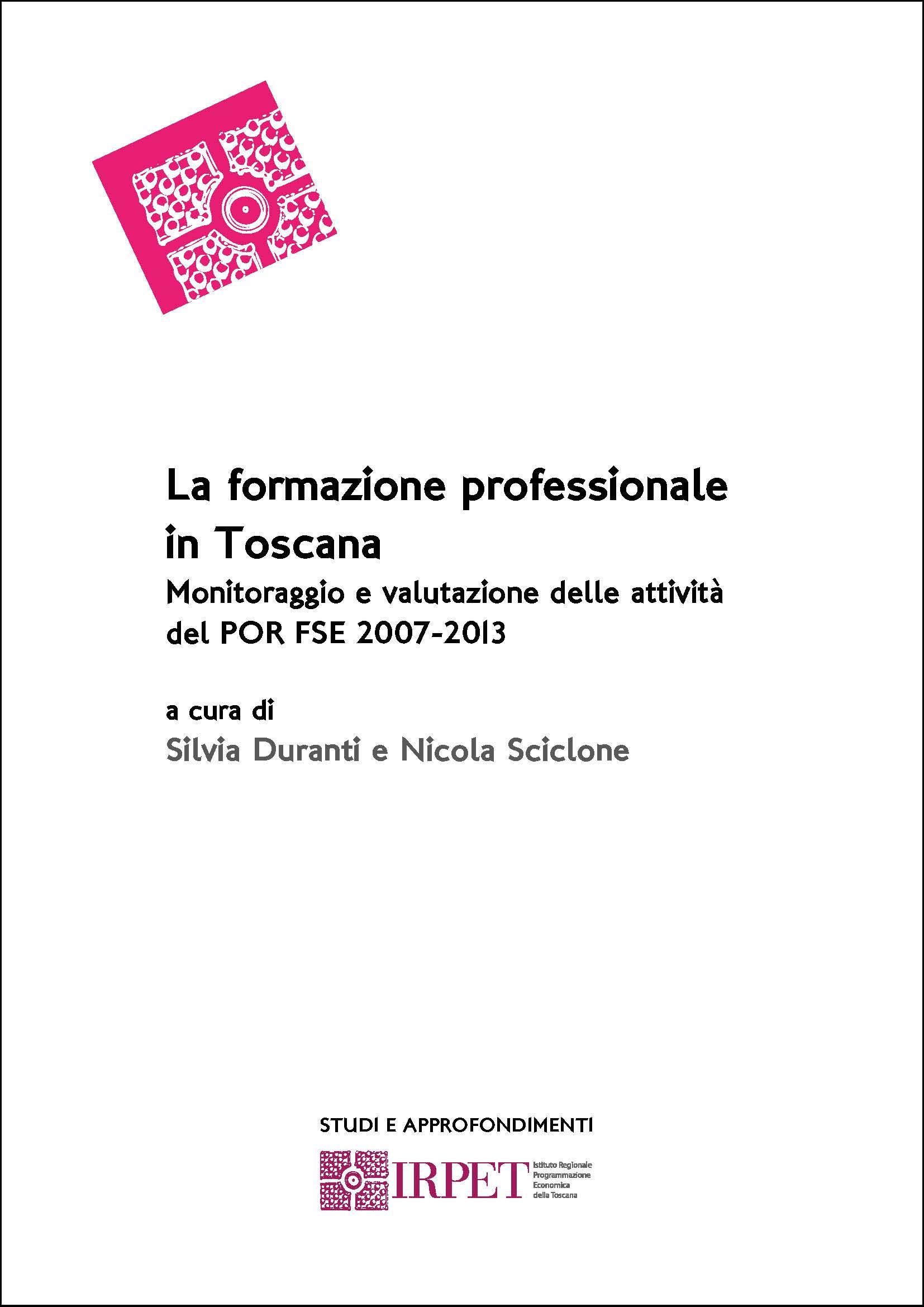 cover S&A Duranti Rapporto formazione professionale