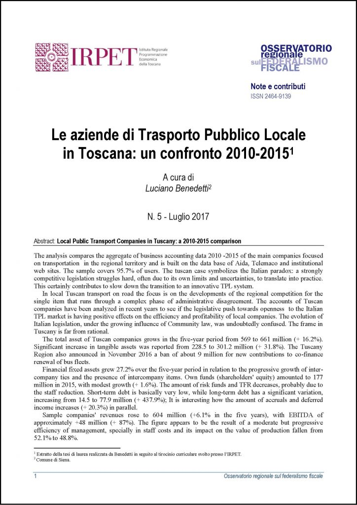 cover Nota ORFF 5_2017 TPL IN TOSCANA