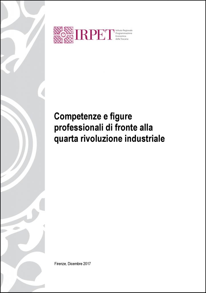 cover Rapporto_competenze 4.0 Faraoni  gennaio 2018
