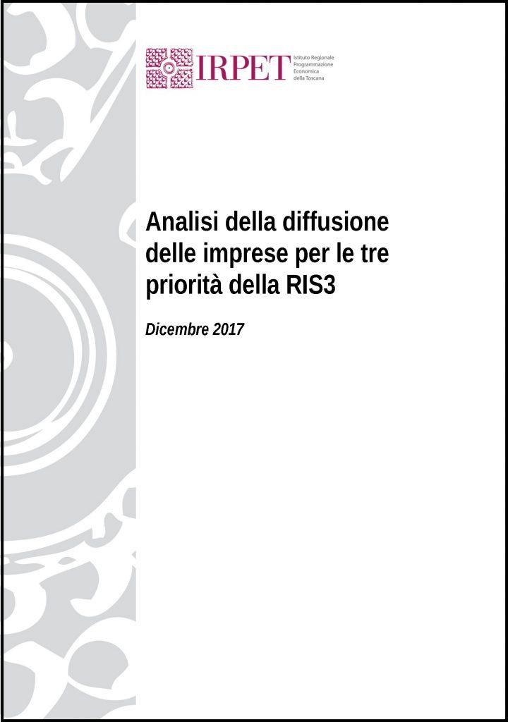 Copertina 1c_Analisi della diffusione delle imprese per le tre priorità della RIS3