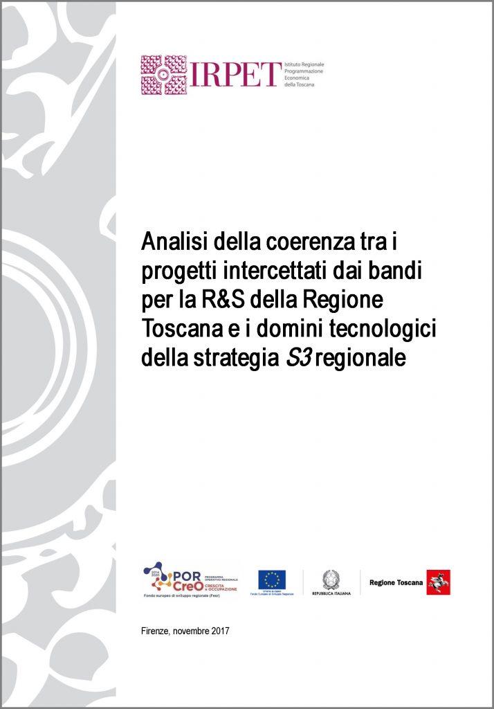 cover Analisi della coerenza tra roadmap RIS3 e progetti presentati nei bandi 2018