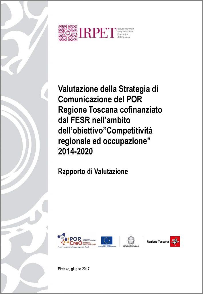 cover Rapporto valutazione FESR 2014_20 ok