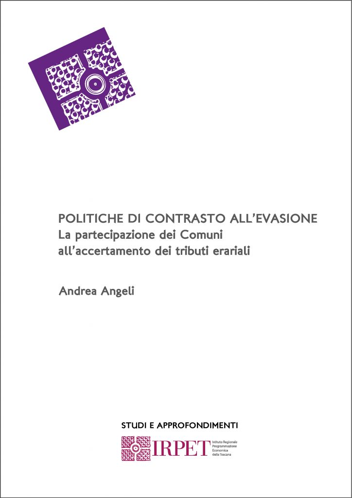cover S & A Politiche contrasto evasione