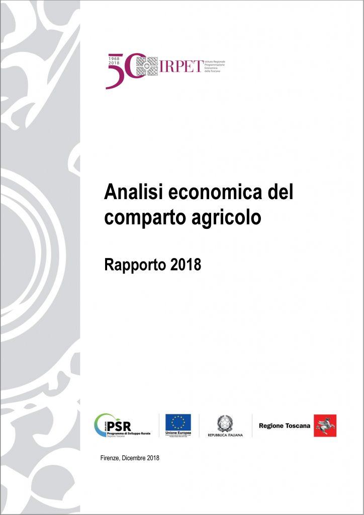 cover Rapporto Agricoltura. Quadro_congiunturale 2018