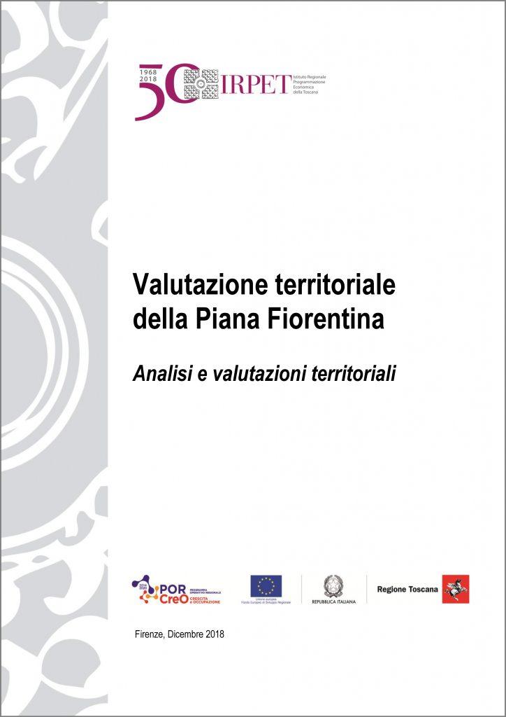 cover Valutazione territoriale della PIANA FIORENTINA