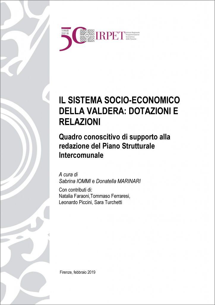 cover Sistema socio-economico Valdera Iommi 02.2019