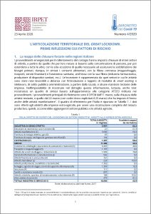 cover Barometro Covid-19 n. 4 del 23.04.2020