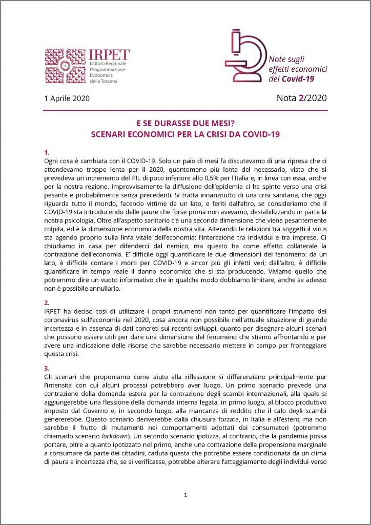 cover Nota 2 31.03.2020 Covid-19