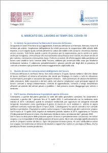 cover Barometro Covid-19 n. 5 del 7.05.2020