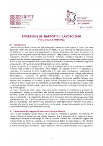 cover Nota 13 Osservatorio Covid-19