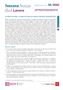 cover Flash Lavoro 45_2020 APPROFONDIMENTO