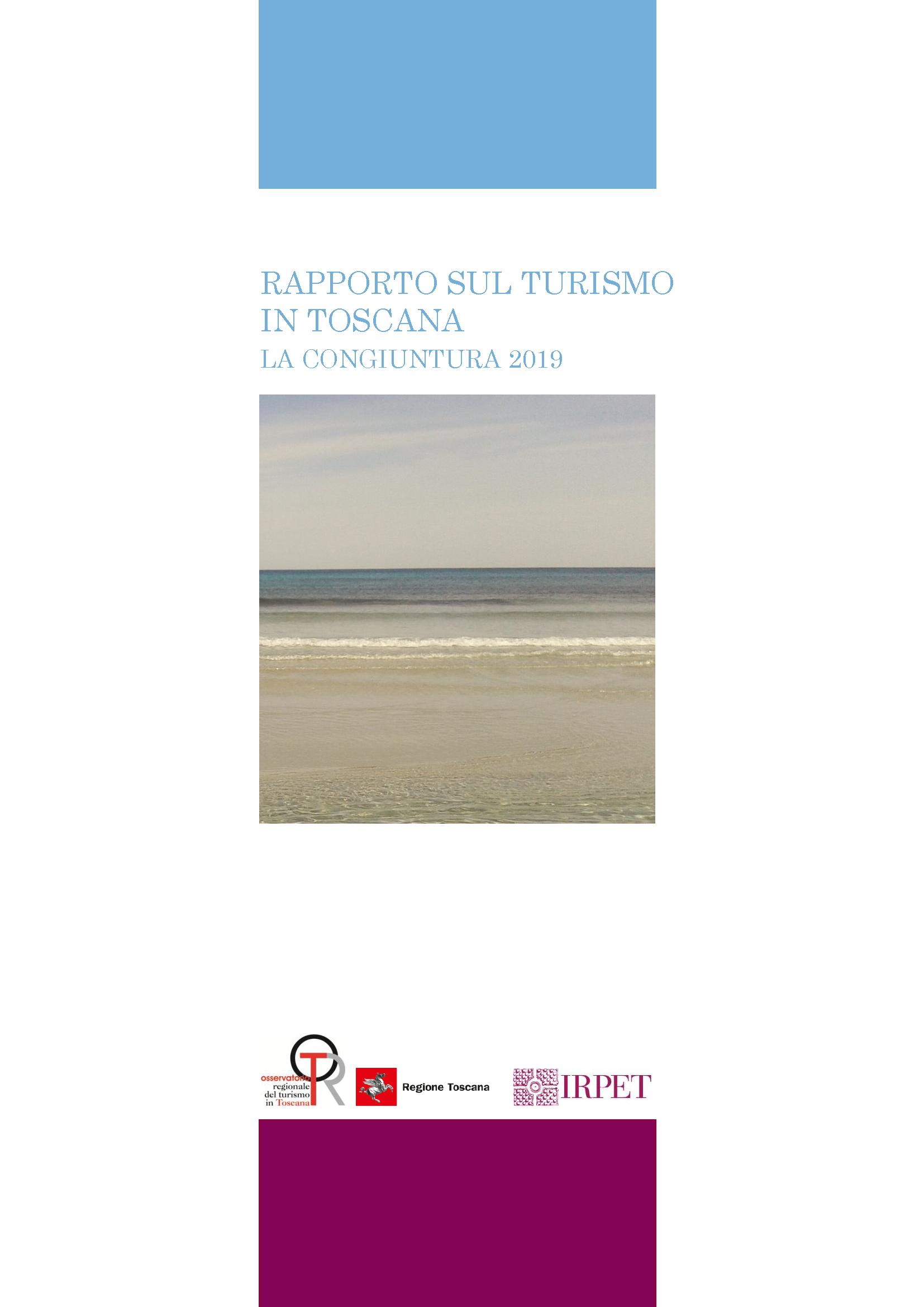 cover Rapporto turismo Toscana_congiuntura 2019