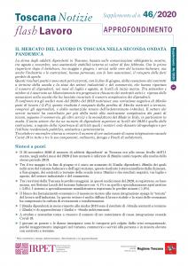 cover Flash Lavoro 46_2020 APPROFONDIMENTO