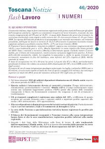 cover Flash Lavoro 46_2020 I NUMERI