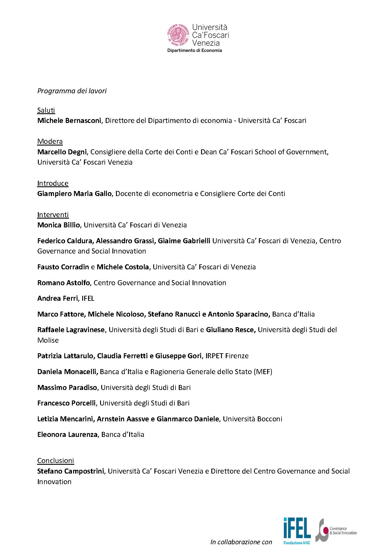 Locandina seminario di studio 5.02.2021
