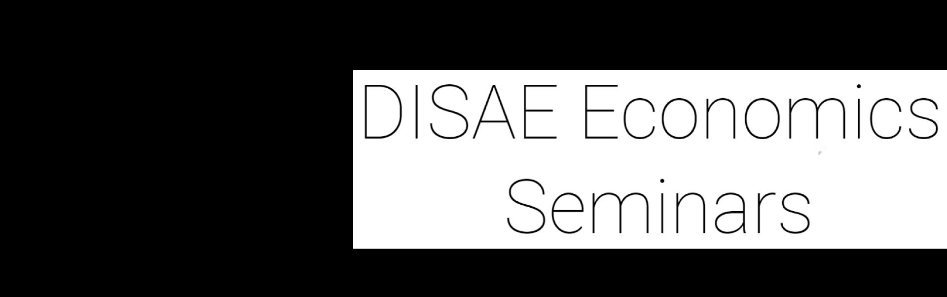 DISAE-Economics-Seminar