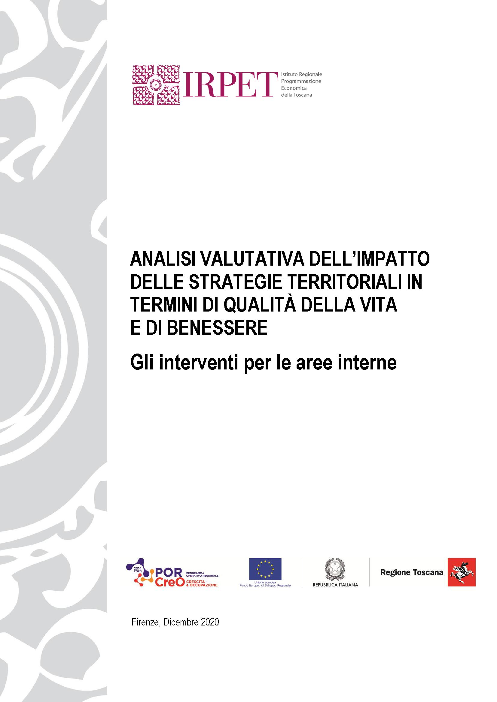 Report IRPET Aree Interne_aggiornamento 2020