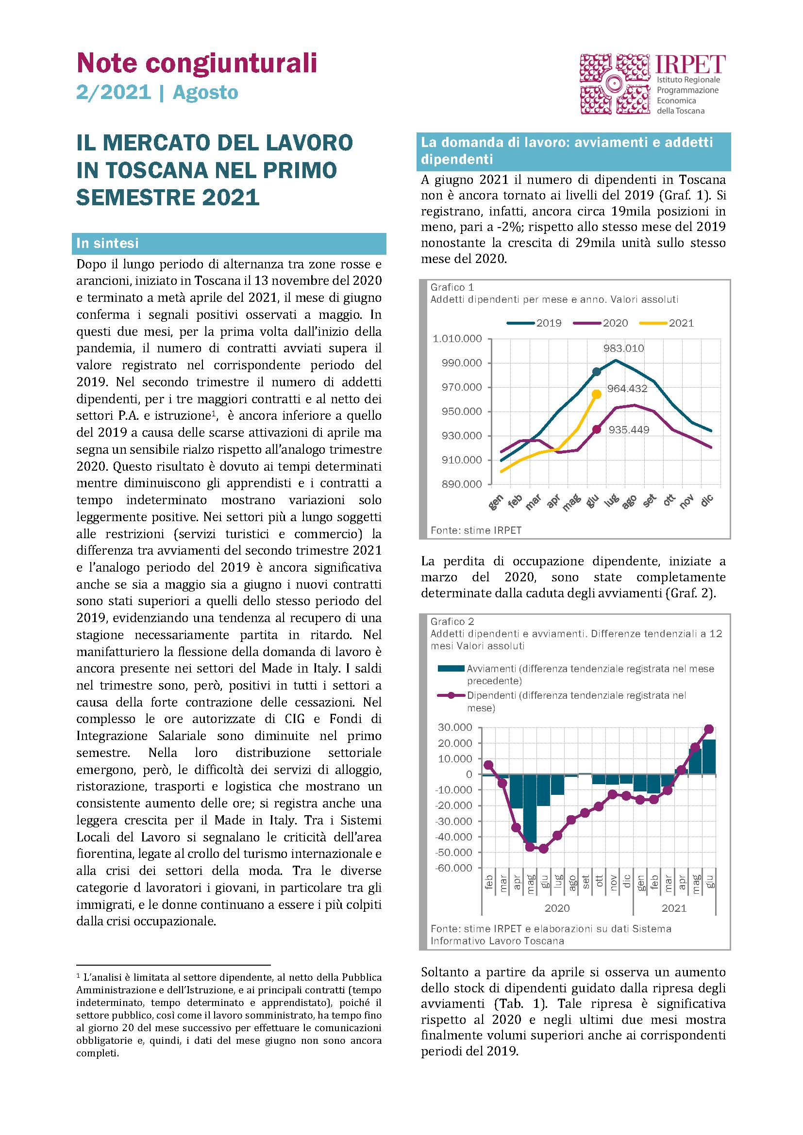 Nota congiunturale 2.2021 mercato_lavoro